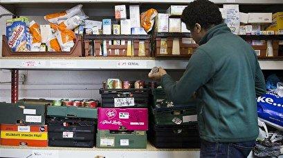 UK food bank network hands out record 1.6 million food parcels