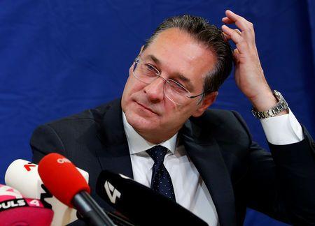 Austrian far-right leader urges fight against 'population exchange'