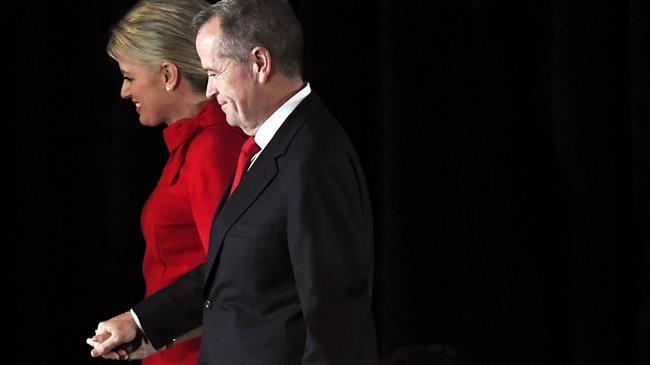 Australian PM Morrison celebrates unexpected victory