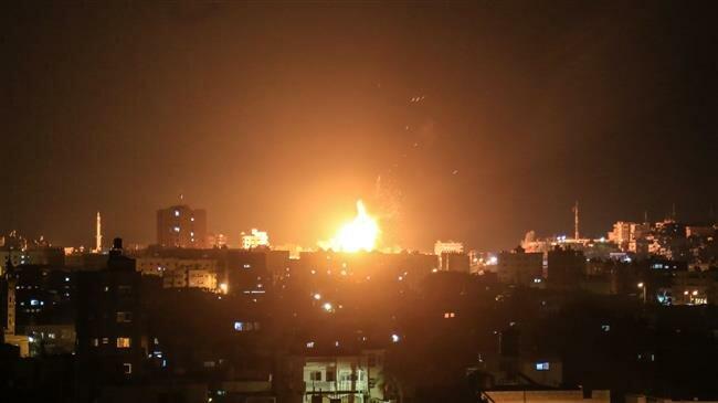 Israeli warplanes strike Gaza again, prompt retaliatory rocket launch