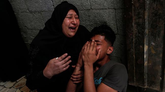 Funeral held in Gaza as Tel Aviv continues to strike besieged enclave