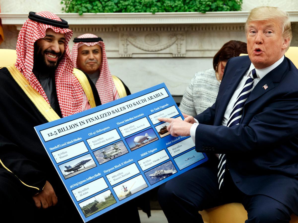 US senators seeking to block Trump's Saudi arms sales