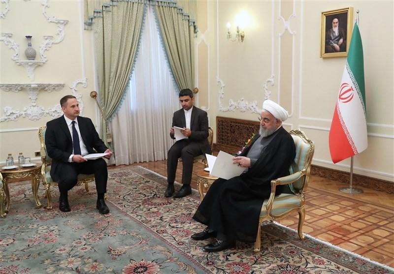 Rouhani stresses broadening Iran-Poland bilateral ties