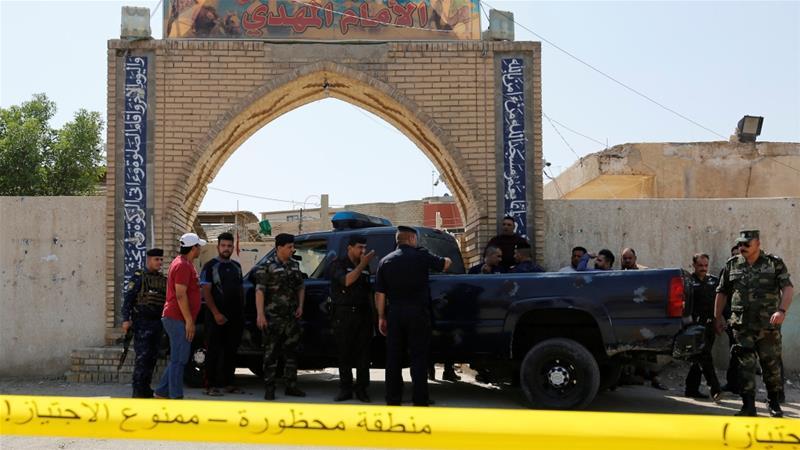 Iran condemns terrorist attack on Baghdad Shiite mosque