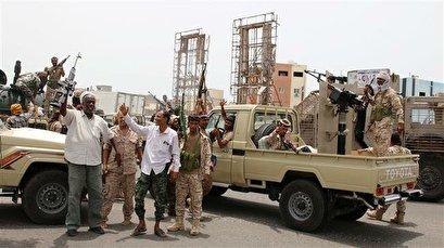 Saudi-led coalition attacks Emirati-backed militia in Aden