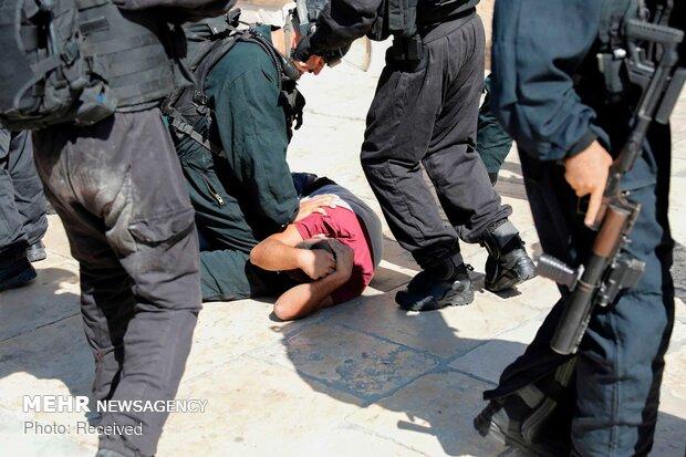 Zionists attack Eid Al-Adha Muslim worshipers