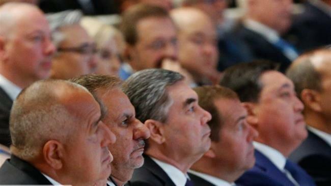 Caspian Sea littoral states ink economic cooperation deal
