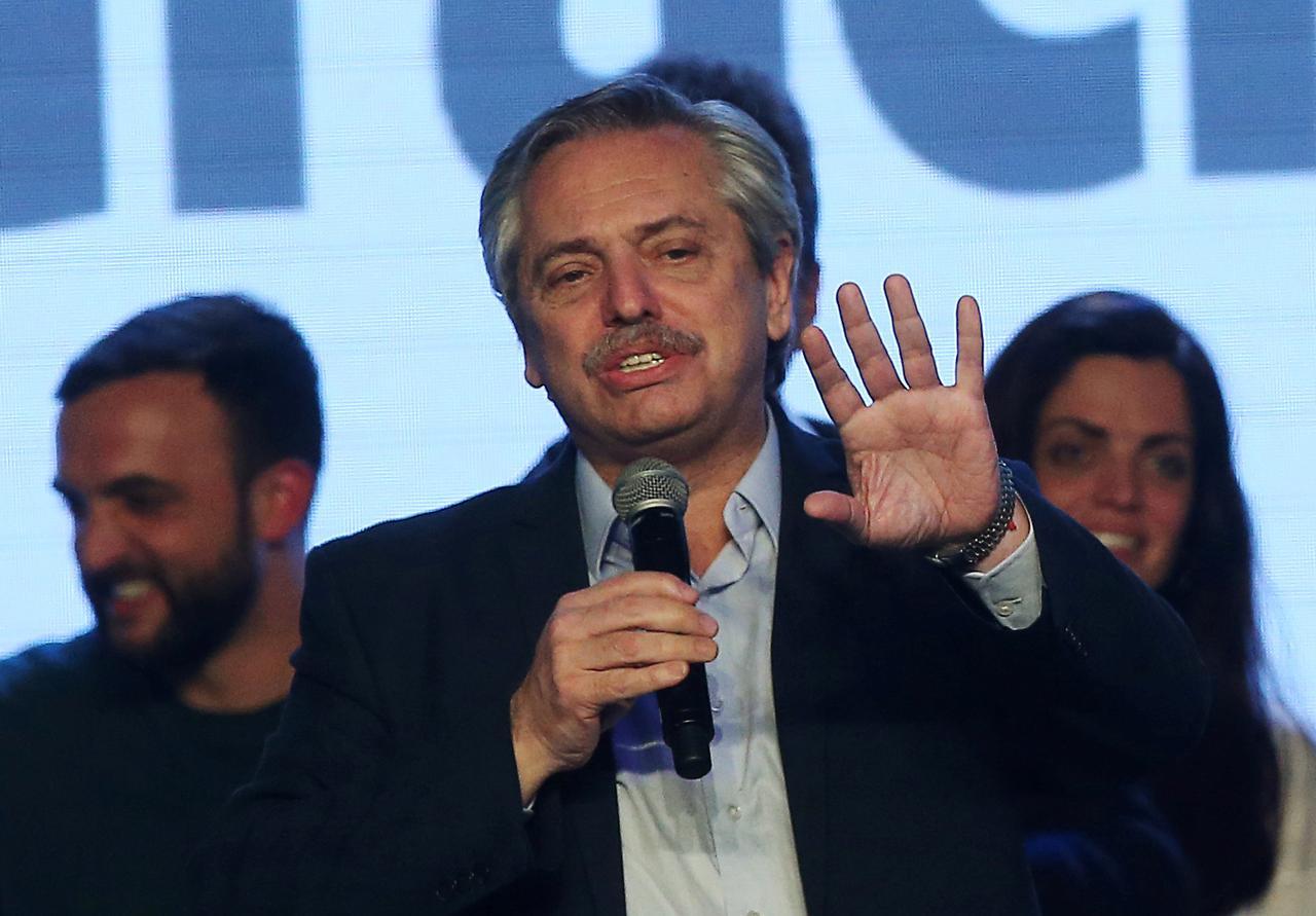 Argentina's presidential front runner Fernandez says peso at 60 per dollar 'seems fine'- radio