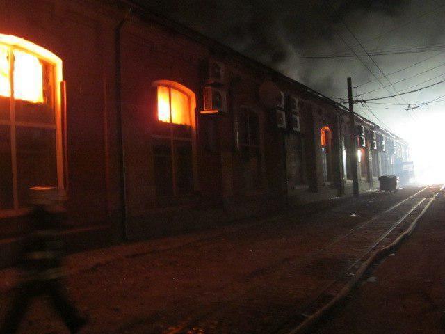 Eight die in fire at hotel in Ukraine
