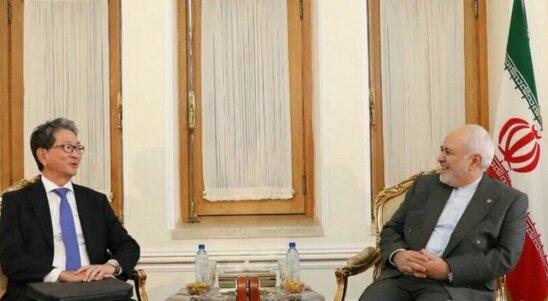 Iran, Japan diplomats discuss bilateral ties