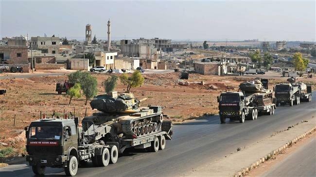 Turkish convoy enters Syria's Idlib to help Takfiri militants
