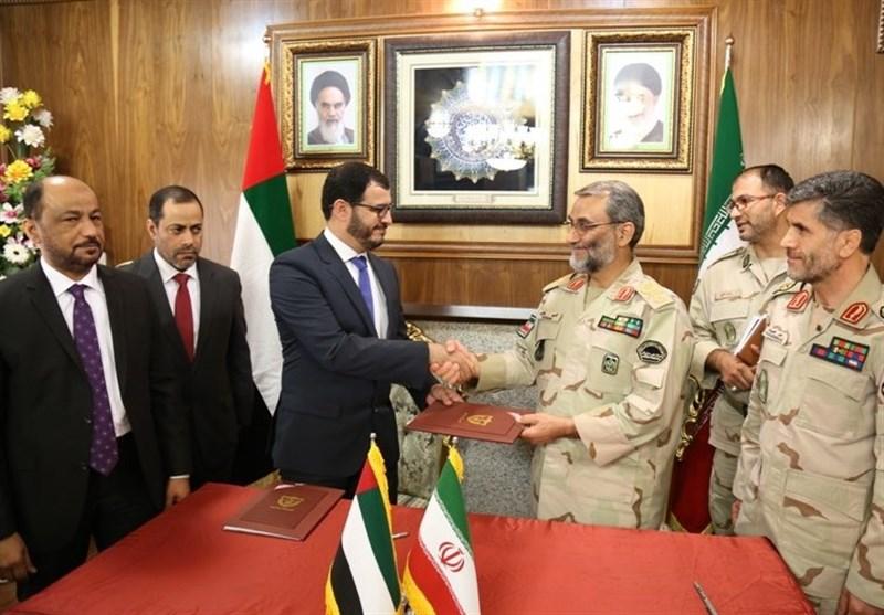 Iran, UAE ink MoU on border security