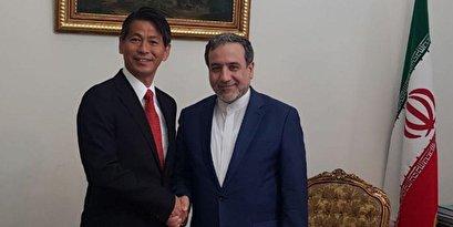 Japan seeks boosting bilateral ties with Iran