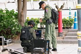 Blasts hit Bangkok during major security meeting