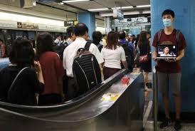 Hong Kong protests planned for mob-attack subway as bank warns of economic fallout