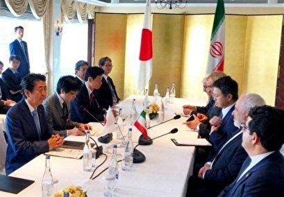 Iran's Zarif Meets Abe in Japan