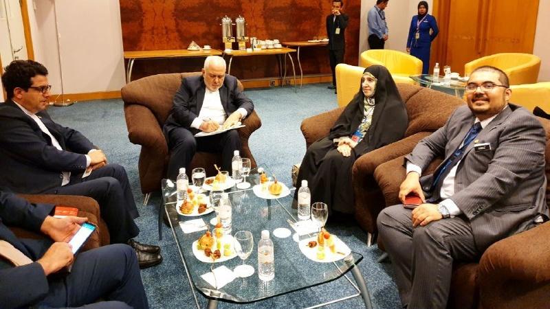 Iran's FM arrives Malaysia