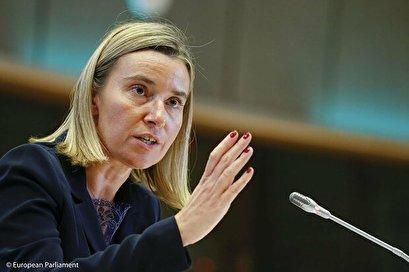 Respecting JCPOA prerequisite to further talks: Mogherini