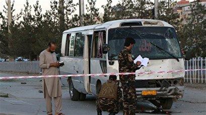 2 killed in TV bus bombing in Afghan capital