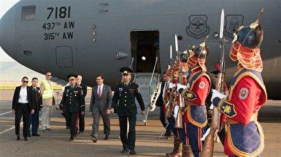 US Defense Secretary Esper in Mongolia to up pressure on Russia, China