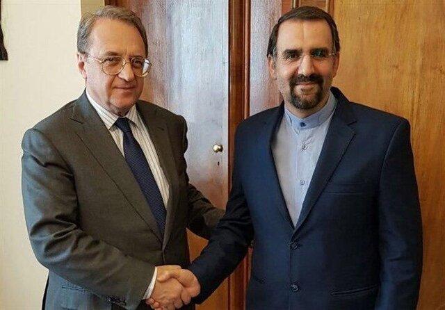 Iran, Russia confer on regional, int'l matters