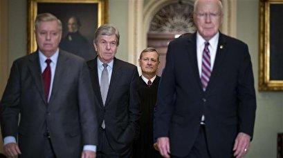 Senate Republicans mull speeding up Trump's impeachment trial