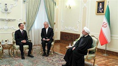 Rouhani: US pressure, plots against Iran, Venezuela crimes against humanity