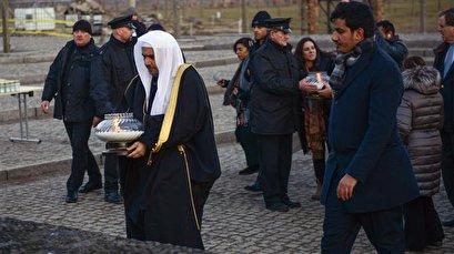 Senior Saudi scholar visits Auschwitz camp ahead of Holocaust anniversary