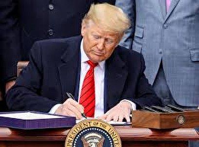 Trump signs USMCA, 'ending the NAFTA nightmare'; key Democrats not invited