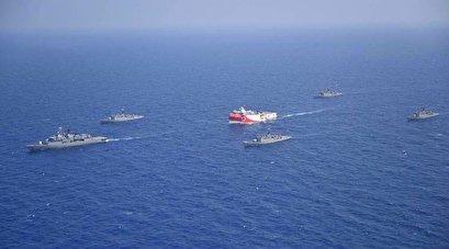 EU denounces Turkey's 'provocations' in Mediterranean Sea