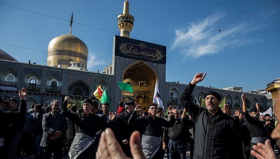 Iran: Mourning Martyrdom Anniversary of Imam Reza