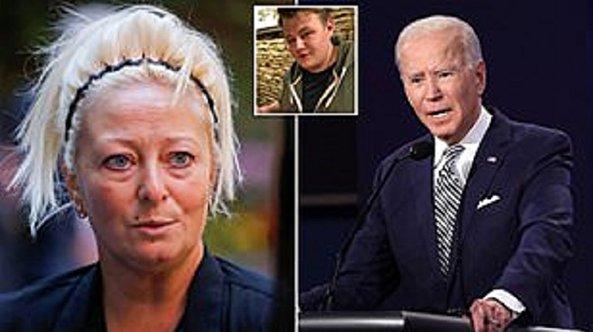 Harry Dunn's mum reaches out to US presidential candidate Joe Biden