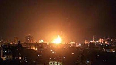Israeli warplanes, helicopters launch fresh air raids in Gaza