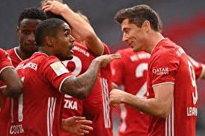 Bundesliga: Bayern Munich 5-0 Eintracht Frankfurt