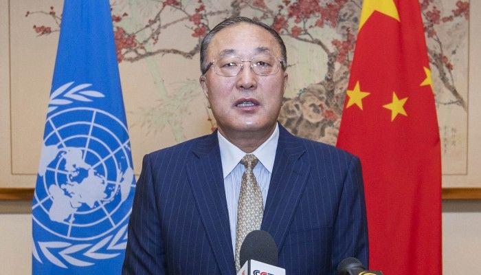 The Chinese UN ambassador: