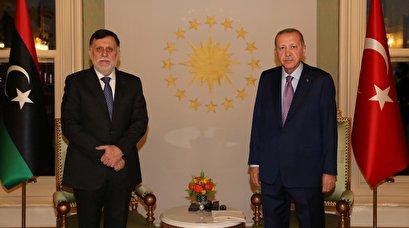Turkey's Erdogan, Libya's Sarraj reaffirm bilateral cooperation in Istanbul meeting