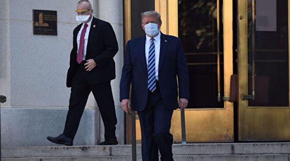 Trump leaves Walter Reed despite coronavirus infection