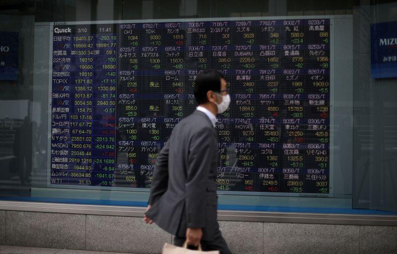 Asian shares to open higher on renewed U.S. stimulus hopes