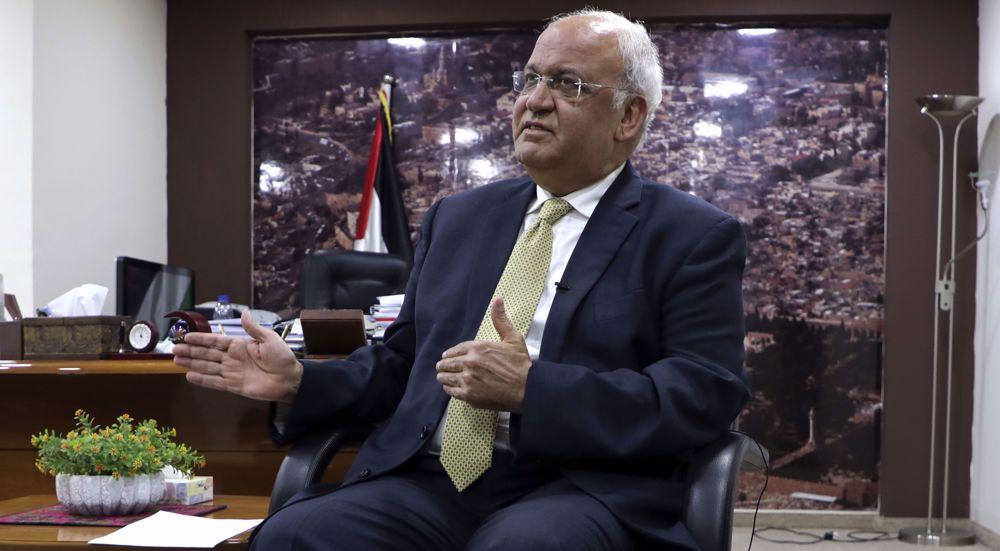 Senior PLO official, veteran negotiator Saeb Erekat dies of COVID-19