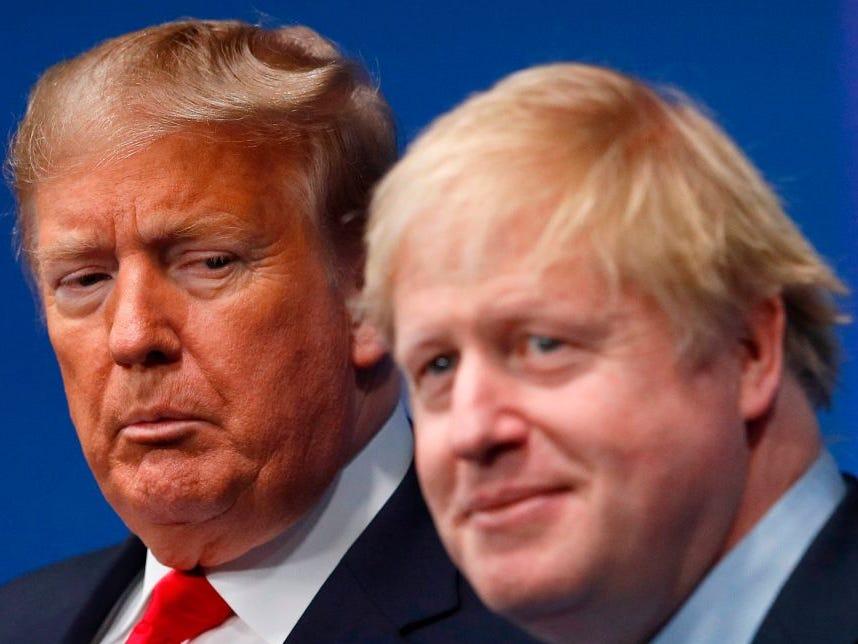 UK: 'Technical error' leaves Trump in background of UK's Biden congratulatory tweet