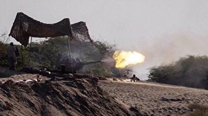IRGC fires artillery on terrorist positions across Iran's northwest border