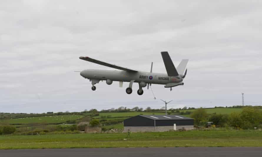 British military drone crashes during Cyprus training flight