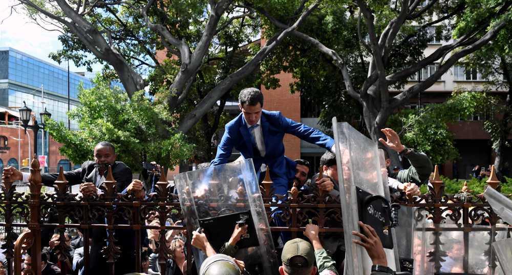 Venezuela's US-backed opposition figure faces major defeat in polls