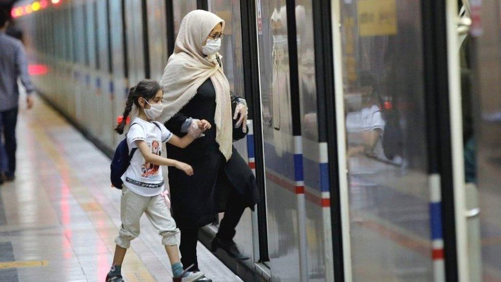 Iran Covid-19: Death toll fall below 300 after seven weeks