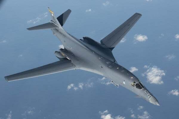 U.S. Air Force returns B-1B Lancer bombers to Guam