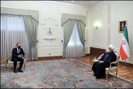 Iranian President says the country is prepared to help empower Azerbaijan-Armenia ceasefire