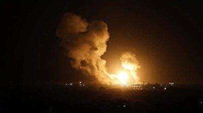 Israeli jets bomb Gaza after retaliatory Palestinian rocket strikes