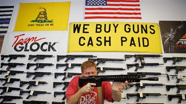 US gun sales explode as coronavirus outbreak worsens