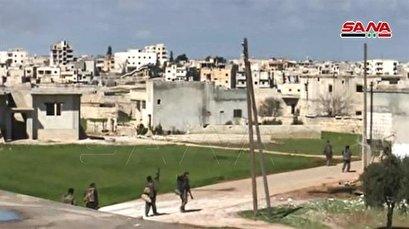Syrian govt. forces recapture key northwestern city from Turkish-backed militants