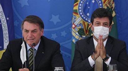 Bolsonaro fires Brazil's popular health minister after virus clash